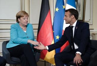 Macron si Merkel propun un plan de relansare economica a UE dotat cu 500 de miliarde de euro