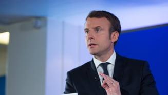 "Macron spune ca ""valul a sosit"", dar e departe de final si va fi urmat de o criza financiara fara precedent"