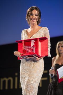 Madalina Ghenea, premiu la un festival din Sicilia - cu ce mare actor a stat de vorba