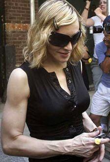 Madonna se va imbraca in Michael Jackson, la Sofia
