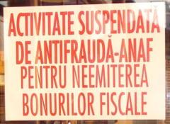 Magazine inchise, confiscari de bani si amenzi cu nemiluita: dupa inspectorii antifrauda, potopul!