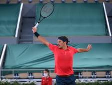 Magie marca Roger Federer: a trimis mingea pe langa fileu dintr-o pozitie imposibila VIDEO