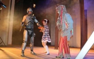 """Magie si muzica in """"Vrajitorul din Oz"""", pe scena Palatului Culturii """"Teodor Costescu"""""""