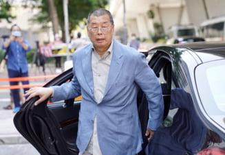 Magnatul de presa Jimmy Lai, activist pro-democratie si critic al regimului de la Beijin, arestat in Hong Kong in baza noii legi privind securitatea nationala