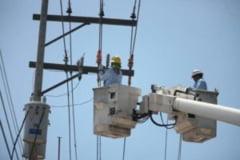Mai multe localitati fara energie electrica
