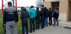 Mai multi migranti, printre care si copii, depistati in apropierea unei pensiuni din Timisoara