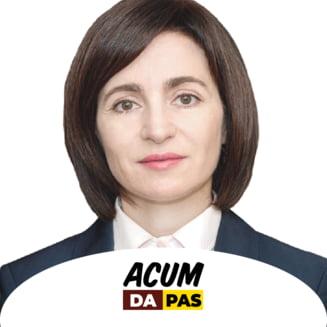 Maia Sandu, apel pentru transferul pasnic al puterii: Nu exista cale de intoarcere
