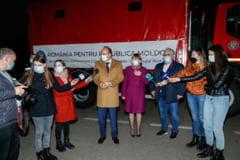 """Maia Sandu, dupa ce Republica Moldova a primit ultima transa de vaccinuri: """"Multumim, Romania, pentru acest sprijin generos si neconditionat!"""""""