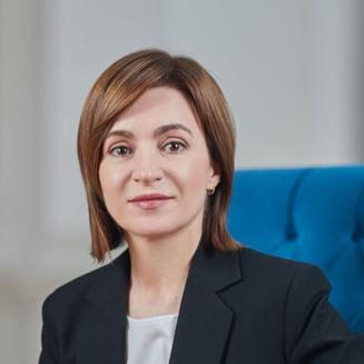 """Maia Sandu a multumit romanilor pentru dozele donate: """"Datorita Romaniei am asigurat tara cu vaccin"""""""