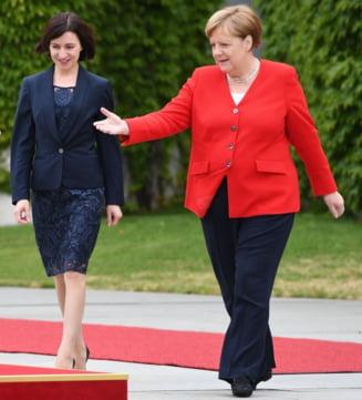 """Maia Sandu anunta, de la Berlin, ca a inceput """"de-oligarhizarea ireversibila"""" a Republicii Moldova"""