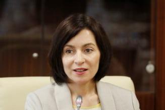 """Maia Sandu cere alegeri parlamentare anticipate. """"Acest Parlament este impotmolit in coruptie"""""""