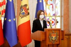 """Maia Sandu demareaza procedura pentru dizolvarea Parlamentului Republicii Moldova: """"Alegerile anticipate sunt solutia care poate vindeca tara noastra"""""""
