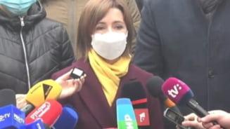Maia Sandu evoca reinnoirea dialogului politic si dezghetarea relatiilor cu partenerii europeni