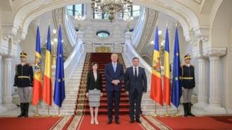 Maia Sandu s-a intalnit cu Iohannis: Avem mare nevoie de sprijinul Romaniei (Foto&Video)