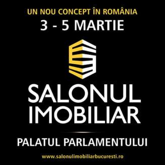 Maine incepe la Palatul Parlamentului primul targ imobiliar al anului: Salonul Imobiliar Bucuresti!
