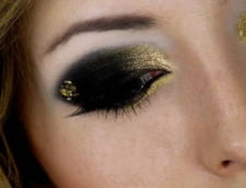 Make-up perfect de Revelion? Afla regulile de baza de la Mirela Vescan