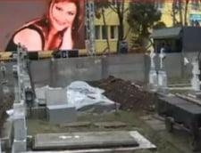 Malina Olinescu inmormantare