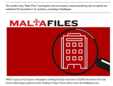 Malta Files, o noua ancheta gigant tip Panama Papers: Dezvaluiri despre zeci de mii de firme mari si personalitati implicate in paradisul fiscal maltez