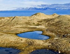 Mama Natura face o noua minune: un lac in forma de inima