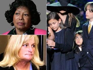 Mama lui Michael Jackson a castigat custodia copiilor megastarului