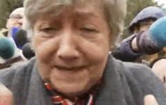 Mama lui Ponta, la iesirea de la DNA: Soacra nu e consiliera (Video)