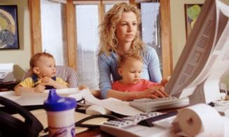 Mamicile care vor sa stea acasa cu copiii isi pot gasi un loc de munca - Interviu