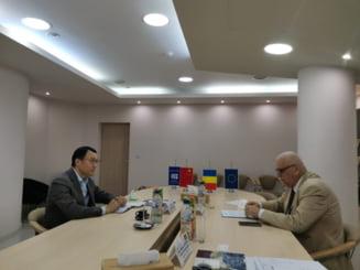 Managerul Bank of China la Bucuresti, intalnire cu Presedintele CCI Prahova