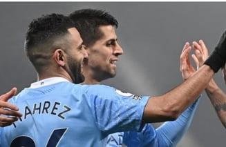 Manchester City, dezlantuita. Echipa lui Guardiola a dat cinci goluri in deplasare si a urcat pe primul loc in Premier League