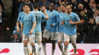 Manchester City, la un pas de titlu in Premier League