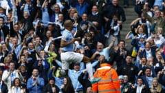 Manchester City, noua campioana a Angliei