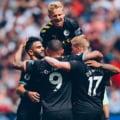 Manchester City a facut scor in prima etapa din Premier League