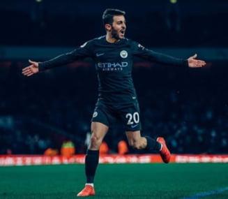 Manchester City a umilit-o pe Arsenal, la Londra