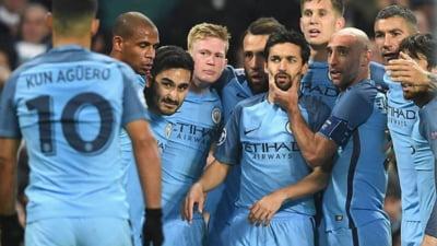 Manchester City castiga in Premier League cu un gol marcat in minutul 97