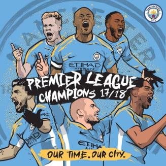 Manchester City e noua campioana a Angliei