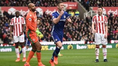 Manchester City si Chelsea, victorii la scor in campionatul Angliei