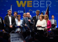 Manfred Weber ar fi iesit din cursa pentru sefia Comisiei Europene. Presa germana scrie ca Angela Merkel a fost de acord