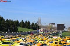 Manifestatia anti-Uber s-a incheiat. Transportatorii au ajuns la un acord cu Guvernul