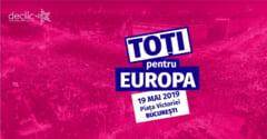 Manifestatie pe 19 mai, in Piata Victoriei: Toti pentru Europa!