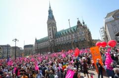 Manifestatii de amploare in Germania, la fel ca in Piata Victoriei: Iesiti la vot pentru Europa