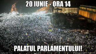 Manifestatii de sustinere pentru Iohannis pe 20 iunie: De data asta poporul spune #panalacapat