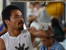 Manny Pacquiao a castigat centura WBO (Video)