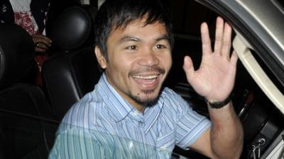 Manny Pacquiao candidează la funcția de președinte al statului Filipine. Marele boxer are mari șanse la alegeri