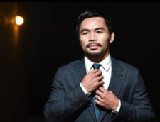 Manny Pacquiao isi anunta intoarcerea in ring