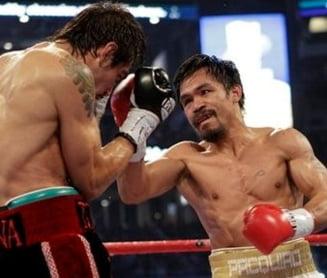 Manny Pacquiao l-a trimis in lumea viselor pe Antonio Margarito