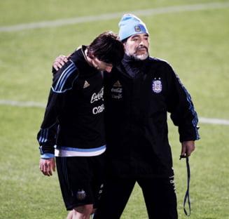 Maradona, dezlantuit: Vrea ca Messi sa se retraga din nationala si il ridiculizeaza pe selectionerul Argentinei!