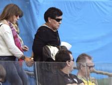 Maradona, gest obscen in direct