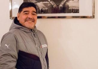 Maradona a preluat o noua echipa: Imi voi da viata aici