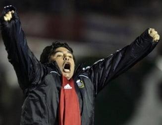 "Maradona a primit o lectie de fotbal de la Ion Marin ""Sapaliga"""