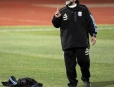 Maradona l-ar putea antrena pe Cristiano Ronaldo