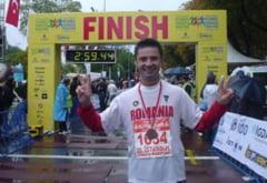 Maratonistul Danut Cernat va face Turul Romaniei pentru copiii politistilor morti de COVID-19